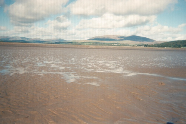 great view in th middle of wigtown bay
